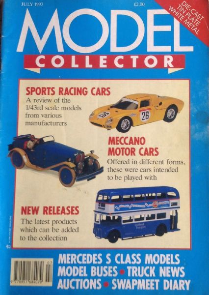 ORIGINAL MODEL COLLECTOR MAGAZINE July 1993